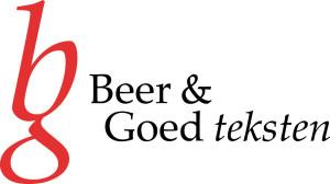 logo BEER & Goed Teksten